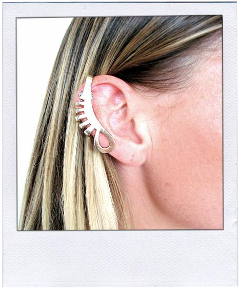 Litter Comb Ear Cuff, $55