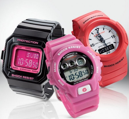 G-Shock-mini-watches-for-girls-in-PINK-and-girly-styles-450x416