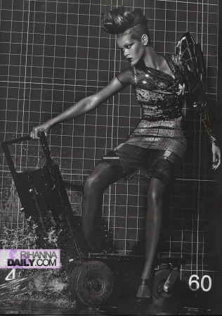 Rihanna 3   Vogue Italia Extreme Couture by steven klein