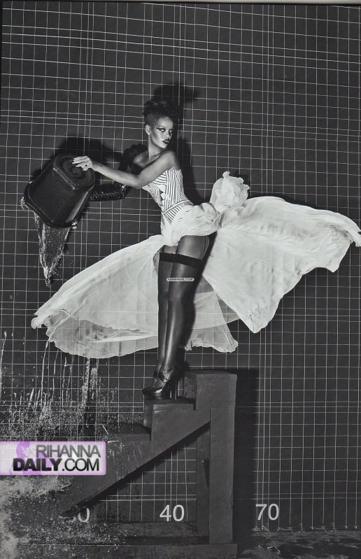 Rihanna 6   Vogue Italia Extreme Couture by steven klein