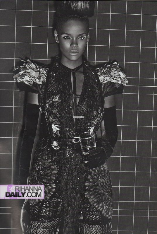 Rihanna 7   Vogue Italia Extreme Couture by steven klein
