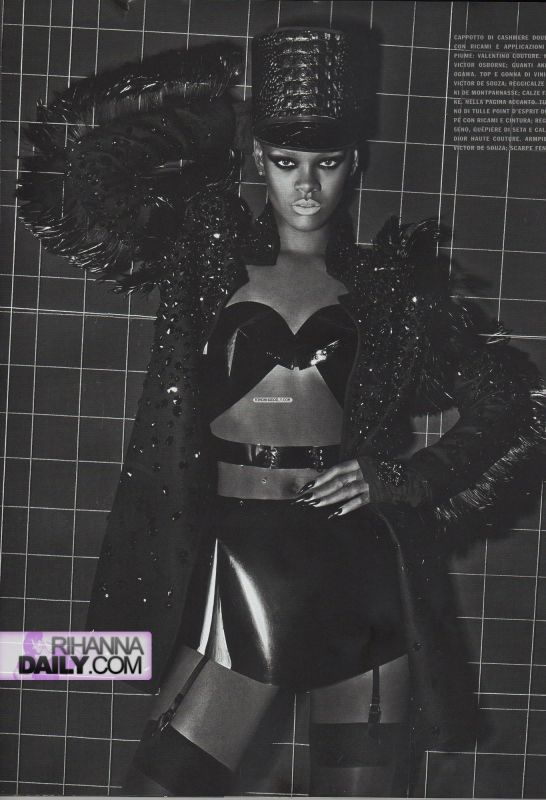 Rihanna    Vogue Italia Extreme Couture by steven klein10