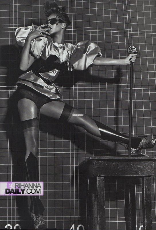 Rihanna    Vogue Italia Extreme Couture by steven klein11
