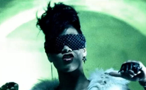 "Rihanna in the ""Run this Town"" video"