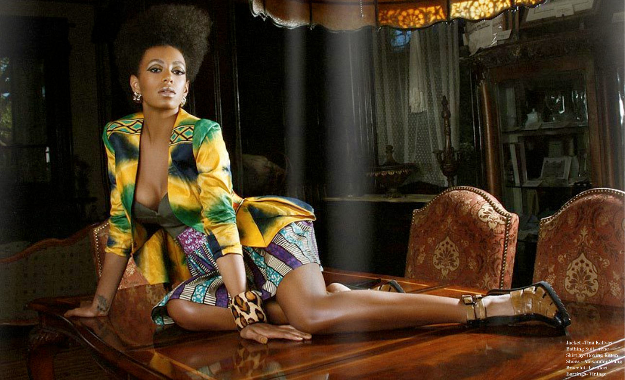 Chocolate Pearls Fashion Blog Solange Knowles The